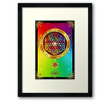 The Flower of Life Framed Print