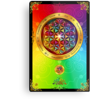 The Flower of Life Metal Print