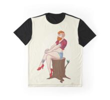 Pin-up Guy Graphic T-Shirt
