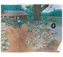 Portage River Cabin Poster