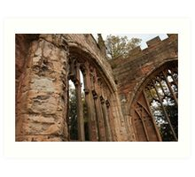 Ruins of St Michael's Cathedral, Coventry, United Kingdom Art Print