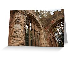 Ruins of St Michael's Cathedral, Coventry, United Kingdom Greeting Card