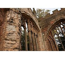 Ruins of St Michael's Cathedral, Coventry, United Kingdom Photographic Print