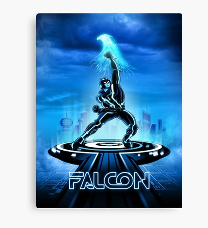 FALTRON - Movie Poster Edition Canvas Print