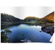 Beautiful Tasmania - Cataract Gorge Poster