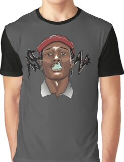 A$AP ROCKY - SMOKE Graphic T-Shirt