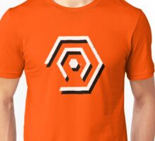 Minimal Hexagons Unisex T-Shirt