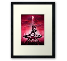 MARIOTRON - Movie Poster Edition Framed Print