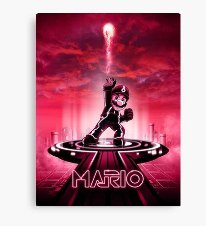 MARIOTRON - Movie Poster Edition Canvas Print