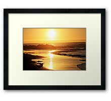 Half Moon Full Sun Framed Print
