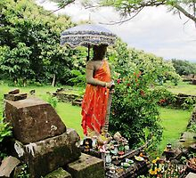 Guardian of Wat Phou © by Ethna Gillespie