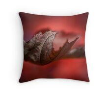 Leaves of Autumn I Throw Pillow