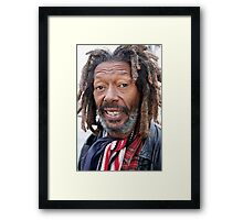 another day with butch Framed Print