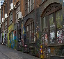 ACDC Lane - Melbourne CBD by Colin  Ewington