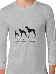 Greyhound type Long Sleeve T-Shirt