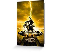 PIKATRON - Movie Poster Edition Greeting Card
