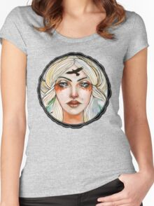 Goddess Freyja tee Women's Fitted Scoop T-Shirt
