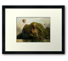 Exloration Of The Ruins Framed Print
