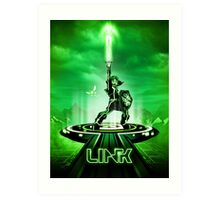 LINKTRON - Movie Poster Edition Art Print