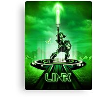 LINKTRON - Movie Poster Edition Canvas Print