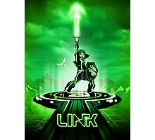 LINKTRON - Movie Poster Edition Photographic Print