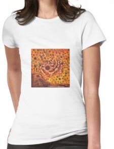 Rusty Mirror I Womens Fitted T-Shirt