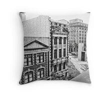 Norfolk, Virginia Throw Pillow
