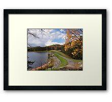 Parker Dam Framed Print