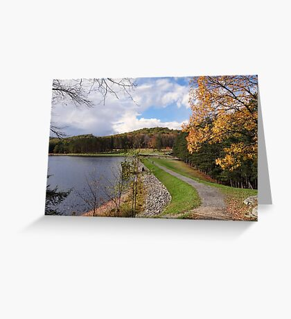 Parker Dam Greeting Card