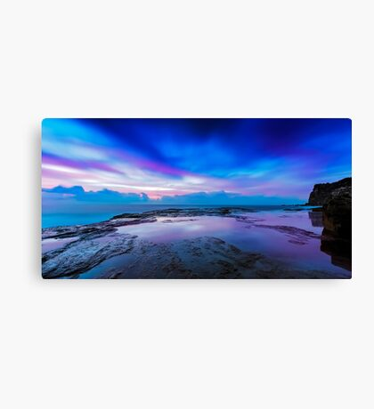 Reflections of Pink & Blue Canvas Print