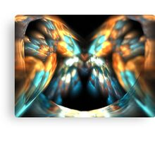 Apricot Wings Canvas Print