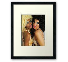 fabulous girls! Framed Print