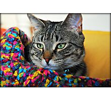 My Colorful Girl Photographic Print