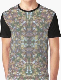 Green Fall Grass Graphic T-Shirt