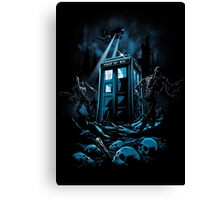 The Doctor's Judgement Canvas Print