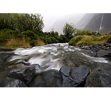 Monkey Creek, Fiordland Photographic Print
