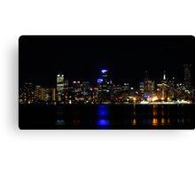 """""""Melbourne Lights"""" Canvas Print"""