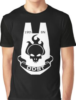 We Are ODST (White Logo) Graphic T-Shirt