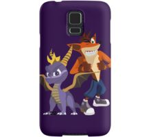 Orange & Purple Samsung Galaxy Case/Skin