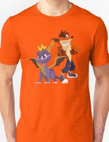 Orange & Purple T-Shirt