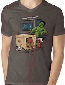 Scientific Bro-gress Goes Boink Mens V-Neck T-Shirt