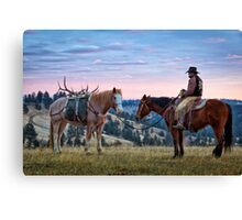 After the Hunt Canvas Print
