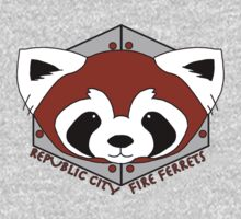 Fire Ferrets - Pro Bending League - Legend of Korra Baby Tee