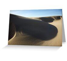 Oceano Dunes 2 Greeting Card