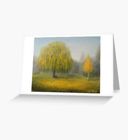 Sleepy Morning Greeting Card