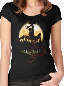 Venomous Night Women's Fitted Scoop T-Shirt
