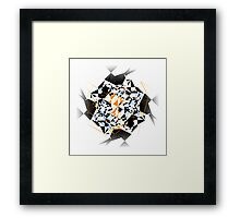 Wired - Abstraction Collection Framed Print
