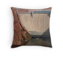 Glen Canyon Dam Throw Pillow