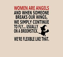 Women Are Angels Womens Fitted T-Shirt
