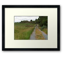 Walking in Glen Veagh Framed Print